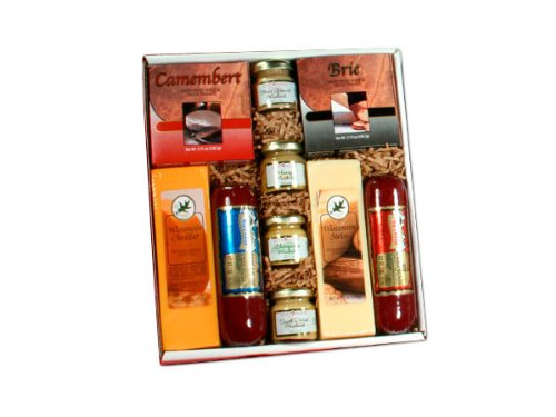 Holiday Party Cheese and Sausage Assortment Gift