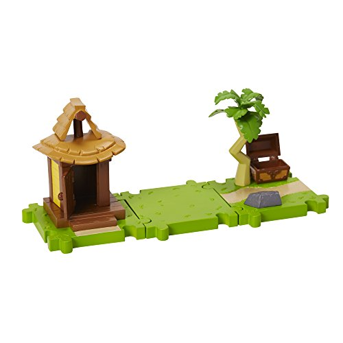 World of Nintendo Mario Bros U Micro 3 pack Link Island'Village theme