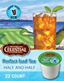 Celestial Seasonings, Perfect Iced Tea, Black Tea & Lemondade, K-Cup Portion Pack for Keurig K-Cup Brewers