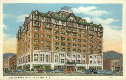 Johnson And Johnson Hotel back-989406