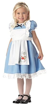 Lil' Alice in Wonderland Child Costume (Ages 4-6)