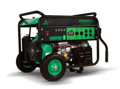 Champion Power Equipment No.71330 Lp/Propane Portable Generator, 6000-Watt