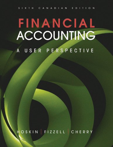 Financial Accounting: A User Perspective