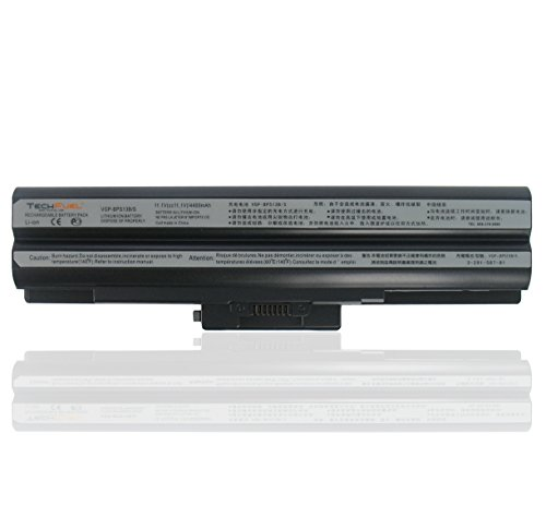 Click to buy Sony VAIO VGN-CS190JTW Laptop Battery - New TechFuel Professional 6-cell, Li-ion Battery - From only $49.95