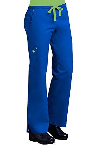 Med-Couture-Womens-EZ-Flex-Moda-Solid-Scrub-Pant-Medium-Tall-RoyalKey-Lime