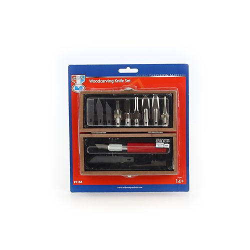 Midwest Products 1164 Woodcarving Knife Set
