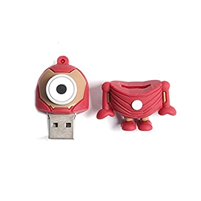 Generic Superhero Minion 16Gb 2.0 Usb Pendrive (Ironman)  - Multi Colored