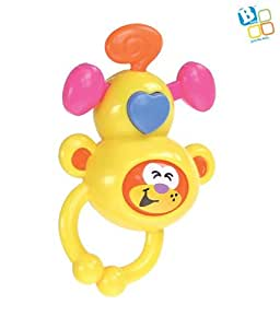 B kids B Kids Monkey Rattle