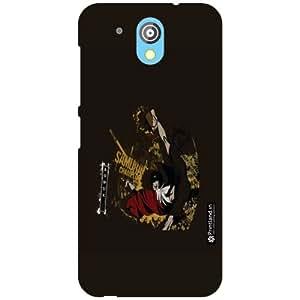 Printland Back Cover For HTC Desire 526G Plus - Black Designer Cases