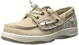 Sperry Top-Sider Ivyfish JR Boat Shoe (Toddler/Little Kid/Big Kid), Linen/Serape, 7.5 W US Toddler