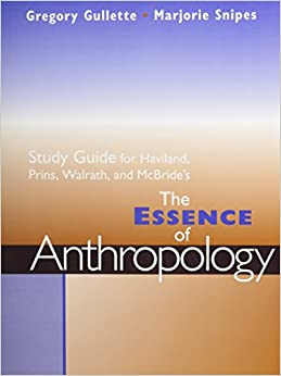 The Essence of Anthropology by William A. Haviland PDF (Free download)