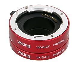 Voking Metal Extension tube set VK-S-ET Premium for Sony Mirroless SLR Cameras