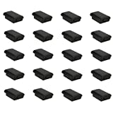 TOOGOO(R) 20x Battery Pack Cover Shell Case Kit for Xbox 360 Wireless Controller Black New