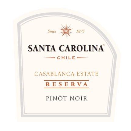 2011 Santa Carolina Reserva Pinot Noir Chile 375 Ml Half Bottle
