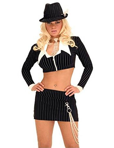 Sexy Mobster Outfit - Halloween Costume