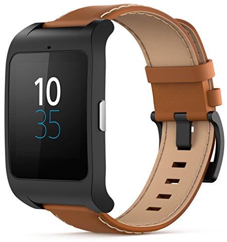 Sony SmartWatch 3 - Reloj para seguimiento de actividad y ejercicio compatible con smartphones Android, color marrón
