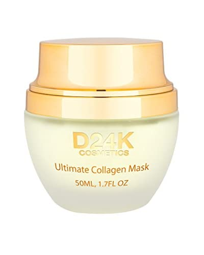 D'OR 24K Women's Collagen Mask, 1.7 fl. oz.