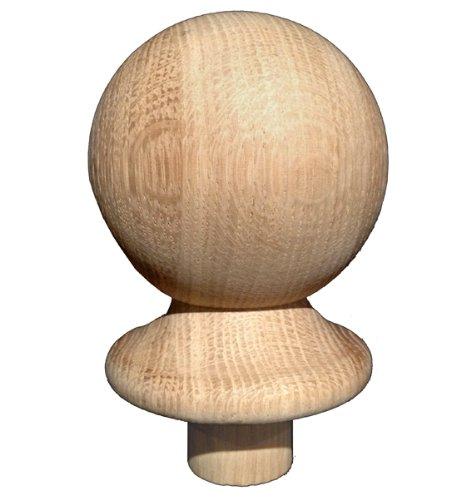 Oak Ball Full Newel Caps