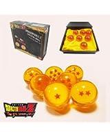 Brand New Dragonball Z Stars Crystal Glass Ball 7pcs with Gift Box