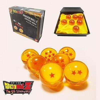 New DragonBall Z Stars Crystal Glass Ball 7pcs with Gift Box