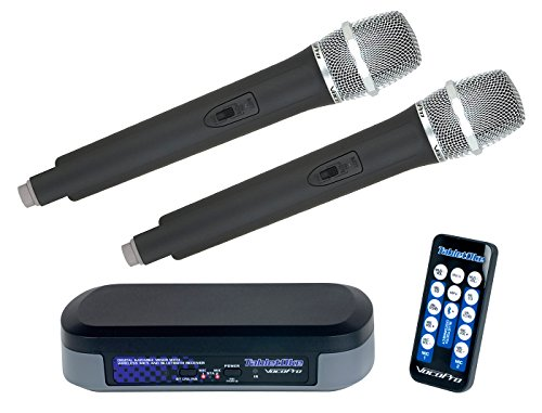 Cheapest Price! VocoPro TABLETOKE Digital Karaoke Mixer with Wireless Mics and Bluetooth Receiver