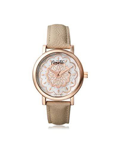 Nanette Lepore Women's 80701 Beige/Mother of Pearl Alloy Watch