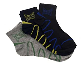 Tapout Women's Quarter Cut Stay in Place Socks -9-11 Multi-Color