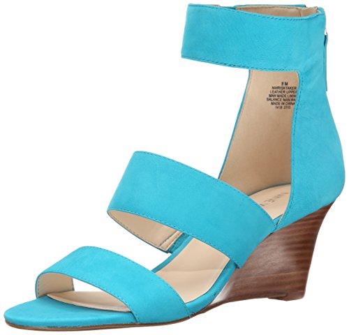 nine-west-risk-taker-femmes-us-10-turquoise-sandales-compenses