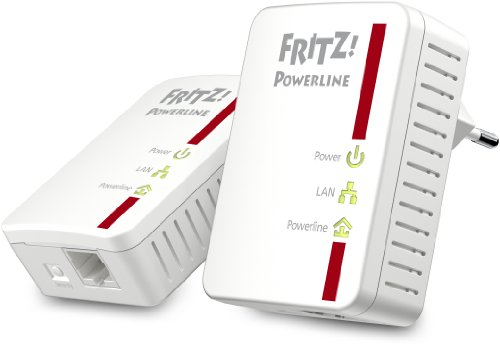 AVM FRITZ! Powerline 510E Set (500 Mbit/s, Fast-Ethernet-LAN)
