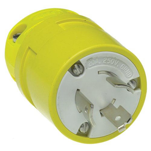 woodhead-2407-super-safeway-plug-industrial-duty-straight-blade-3-poles-3-wires-rubber-yellow-15a-at