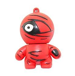 GeekGoodies Fancy Designer Waterproof Rubber One Eyed Ninja USB Pen Drive 8GB