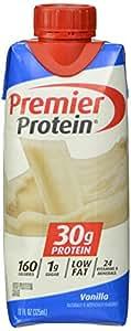 Premier Nutrition High Protein Shake, Vanilla,  11 oz.,18 Count