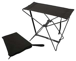 Amazon Com Rothco Folding Camp Stool Black Pocket