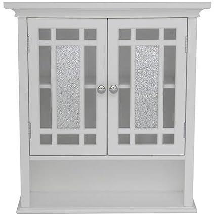 Deshler Wall Cabinet 1 Open Shelf and 1 Interior Adjustable Shelf