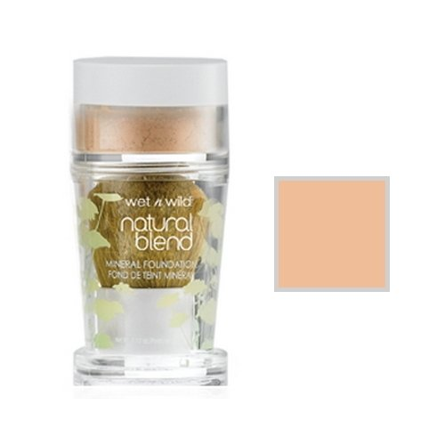 ウェットアンドワイルド Natural Wear Blend Mineral Foundation Fair
