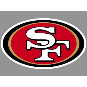 "San Francisco 49ers Official NFL 4""x4"" Die Cut Car Decal at Amazon.com"