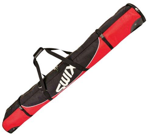 Swix Star Elite Padded Single Ski Bag 210 Cm Red Black