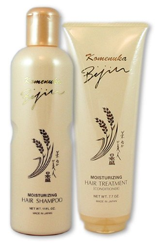 Komenuka Bijin Premium Hair Care Set: Moisturizing