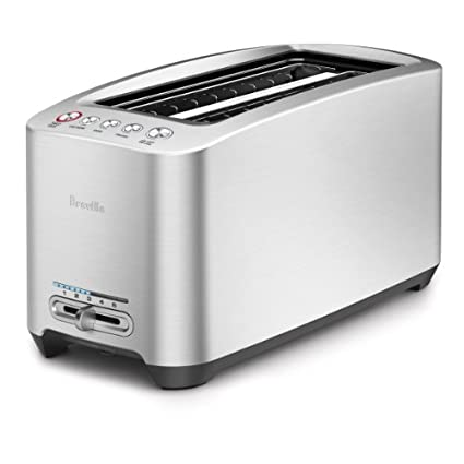 Breville Die-Cast BTA830XL 4 Slice Smart Pop Up Toaster