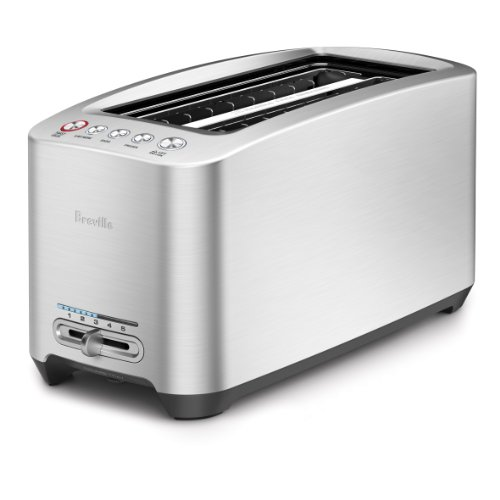 Breville BTA830XL Die-Cast 4-Slice Long Slot Smart Toaster (Russell Hobbs Toaster compare prices)