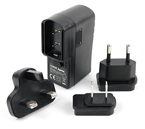 DURAGADGET Compact Global Travel Charger Kit with Worldwide Adapters (UK, EU, US / CA) + USB Port For Amazon Kindle Paperwhite / Kindle Fire / Kindle Touch / Kindle 4 And Kindle Keyboard (On A Kindle Fire Ca compare prices)