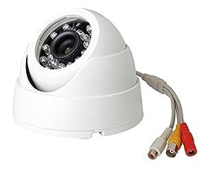 Vanxse® Cctv 24ir Leds Sony CCD 800tvl Indoor Dome Audio Camera D/n Security Surveillance Camera