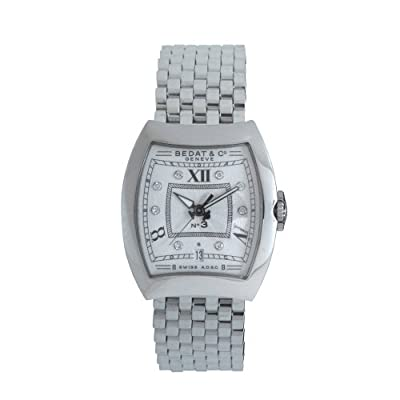 Bedat & Co. Women's 314.011.109 No.3 Silver Diamond Dial Watch