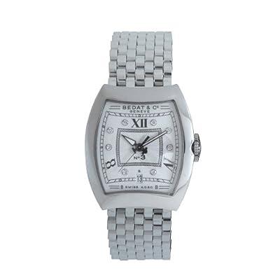 Bedat & Co. Women's 314.011.109 No.3 Silver Diamond Dial Watch by Bedat & Co