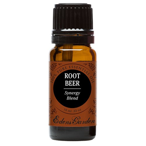 Root Beer Synergy Blend Essential Oil by Edens Garden (Black Pepper, Camphor, Lemongrass, Peppermint, Vetiver and Wintergreen)- 10 ml