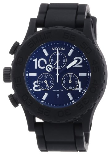 nixon-the-rubber-42-20-chrono-black-orologio-da-polso-uomo
