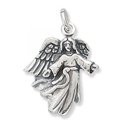 MMA Silver - Angel with Open Arms Charm