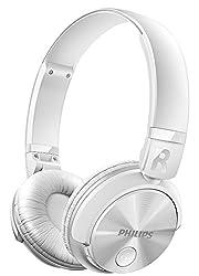 Philips SHB3060WT Bluetooth Headphones (White)
