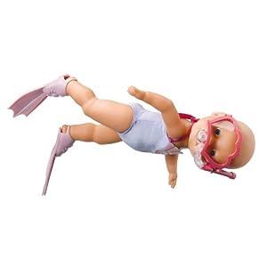Zapf Creation 811276 Baby Born Bambola Che Nuota Amazon