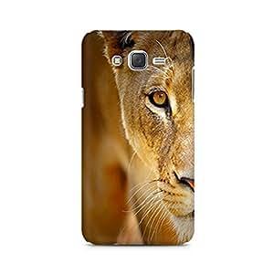 Mobicture Lion Face Premium Printed Case For Samsung J7 2016 Version